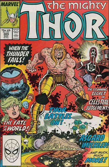 Thor (1966) 389-A by Marvel