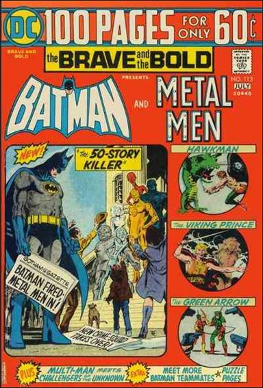 Brave and the Bold (1955) 113-A by DC