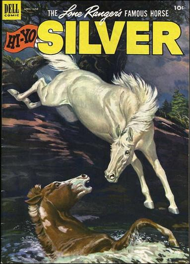 Lone Ranger's Famous Horse Hi-Yo Silver 6-A by Dell