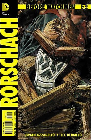 Before Watchmen: Rorschach 3-A by DC