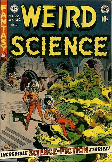 Weird Science (1950) 22-A by E.C.