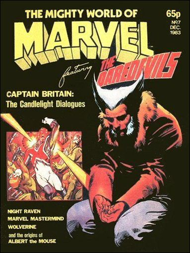 Mighty World of Marvel (UK) (1983) 7-A by Marvel UK