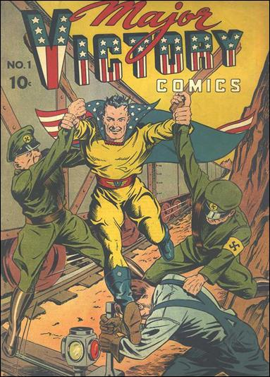 Major Victory Comics 1-A by Harry A. Chesler