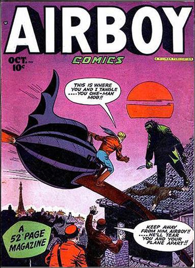 Airboy Comics (1948) 9-A by Hillman