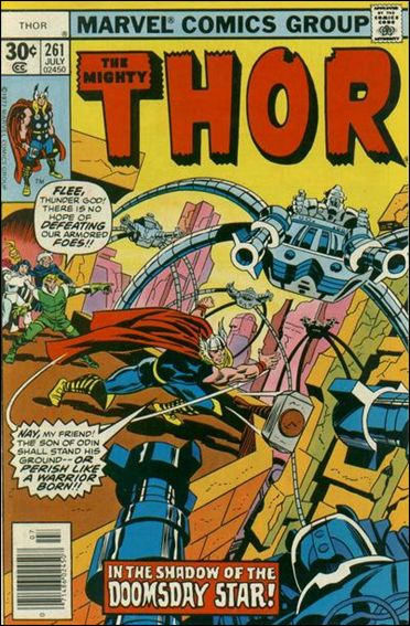 Thor (1966) 261-A by Marvel