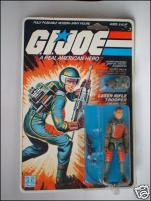 "G.I. Joe: A Real American Hero 3 3/4"" Basic Action Figures Flash (Laser Rifle Trooper)"