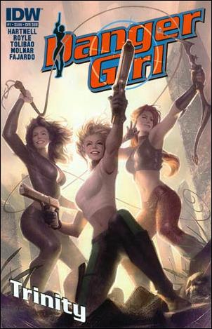 Danger Girl: Trinity 1-B by IDW