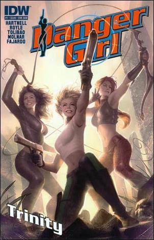 Danger Girl: Trinity 1-B by IDW