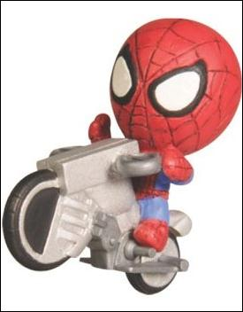 Ultimate Spider-Man Grab Zags (Series 1) Spider-Man Bike by Zag Toys