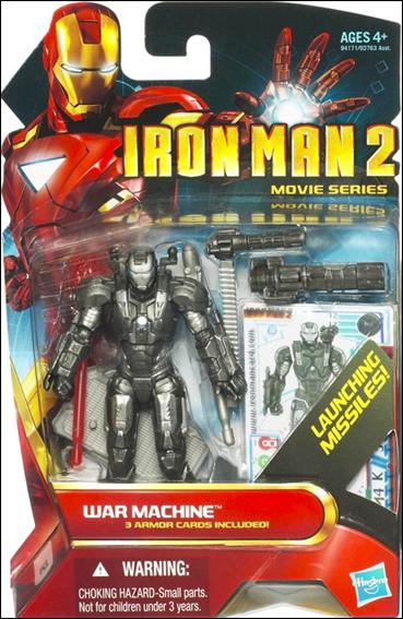 Iron Man 2 War Machine - Blue Eyes (Movie Series) by Hasbro