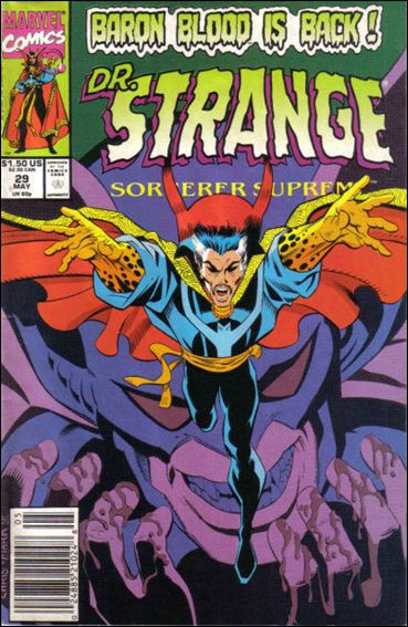 Doctor Strange, Sorcerer Supreme 29-A by Marvel