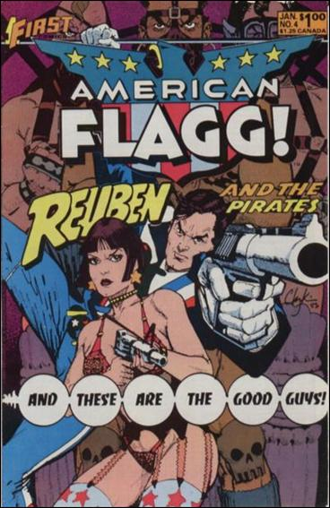 American Flagg! (1983) 4-A by First