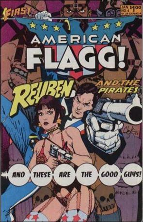 American Flagg! (1983) 4-A