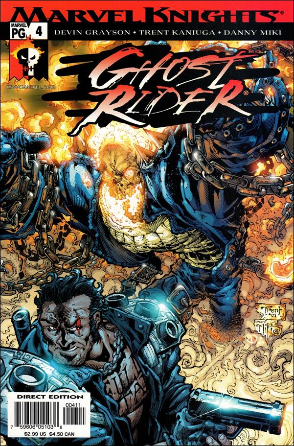 Ghost Rider (2001) 4-A by Marvel