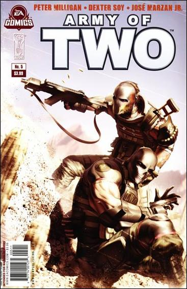 Army of Two 5-A by IDW