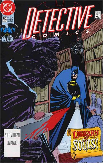 Detective Comics (1937) 643-A by DC