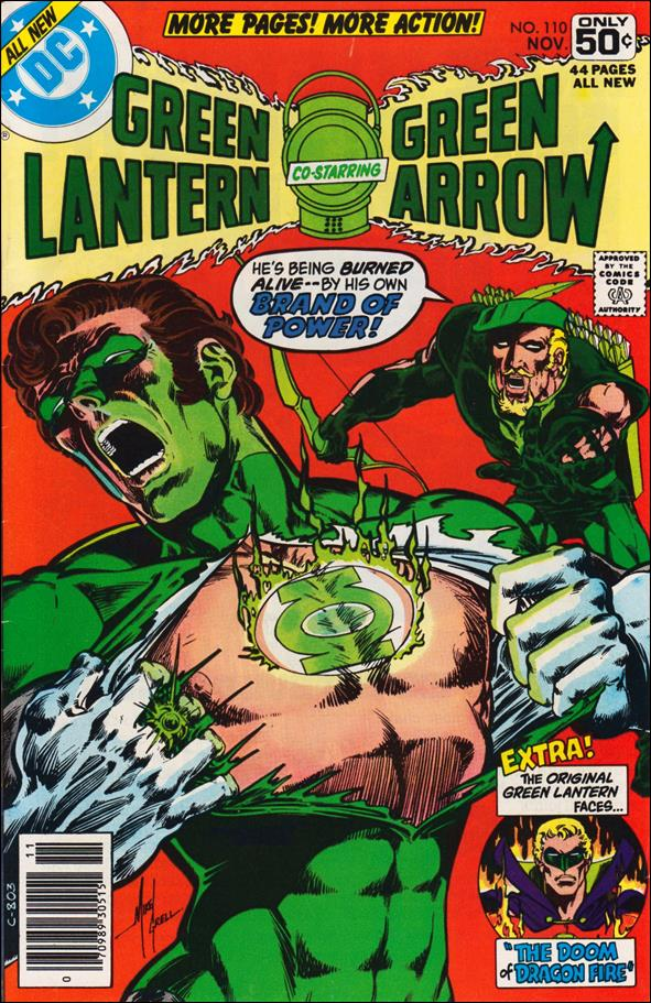 Green Lantern (1960) 110-A by DC
