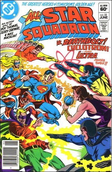 All-Star Squadron 22-A by DC