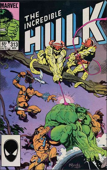 Incredible Hulk (1968) 313-A by Marvel