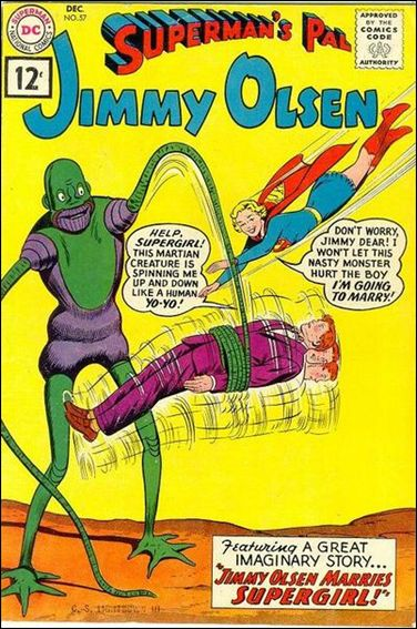 Superman's Pal Jimmy Olsen 57-A by DC