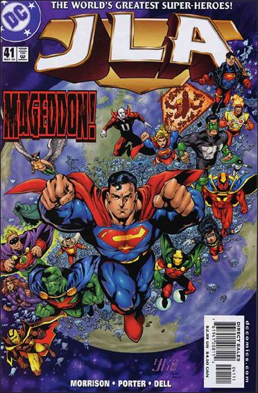 JLA 41-A by DC