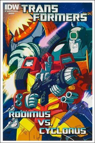Transformers: Rodimus vs Cyclonus 1-A