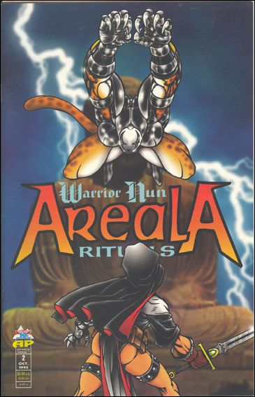 Warrior Nun Areala: Rituals 2-A by Antarctic Press