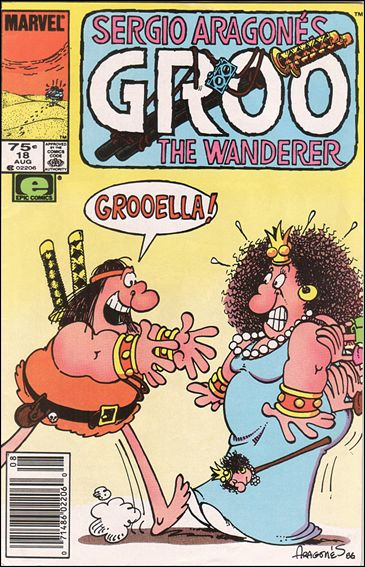 Sergio Aragones Groo the Wanderer 18-A by Epic