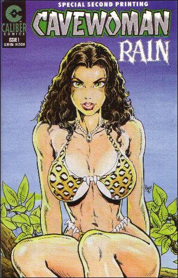 Cavewoman: Rain 1-B by Caliber