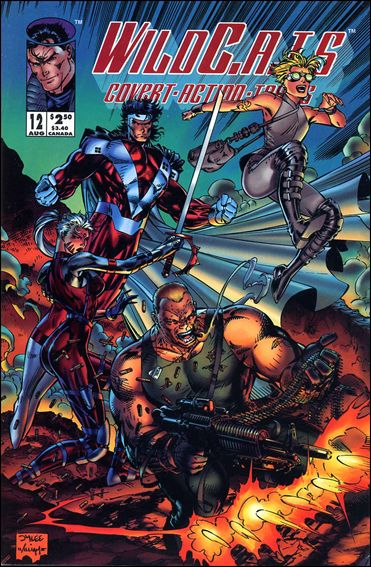 WildC.A.T.s: Covert Action Teams 12-A by Image