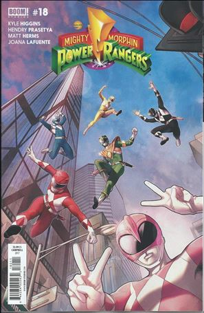 Mighty Morphin Power Rangers 18-A