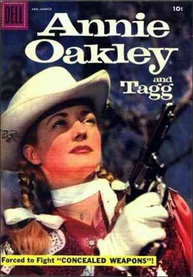 Annie Oakley and Tagg (1955) 14-A by Dell