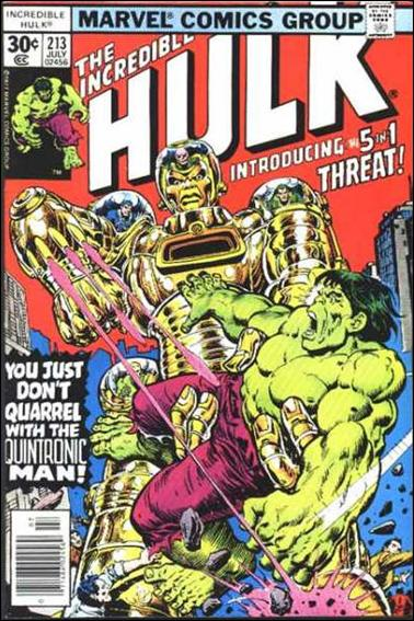 Incredible Hulk (1968) 213-A by Marvel