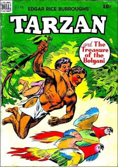 Tarzan (1948) 10-A by Dell