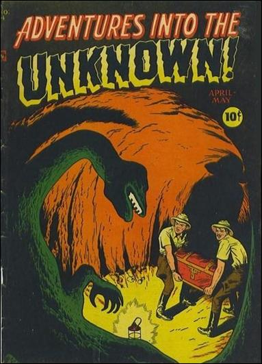 Adventures into the Unknown (1948) 4-A by American Comics Group (ACG)
