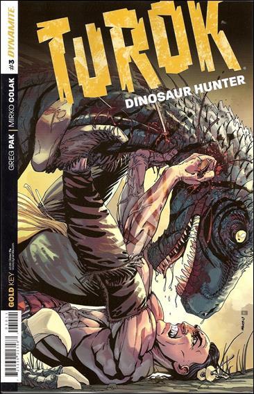 Turok: Dinosaur Hunter (2014) 3-A by Dynamite Entertainment