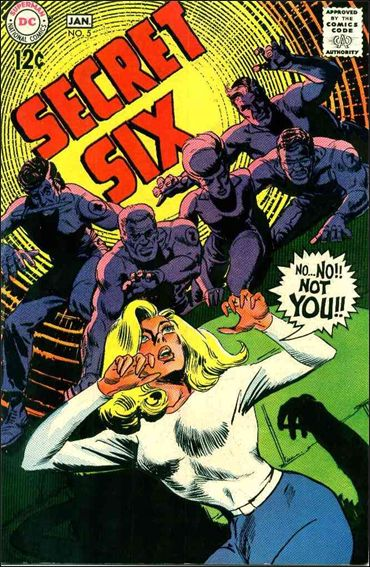 Secret Six (1968) 5-A by DC