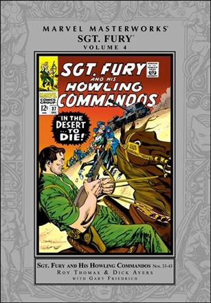 Marvel Masterworks: Sgt. Fury and His Howling Commandos 4-A