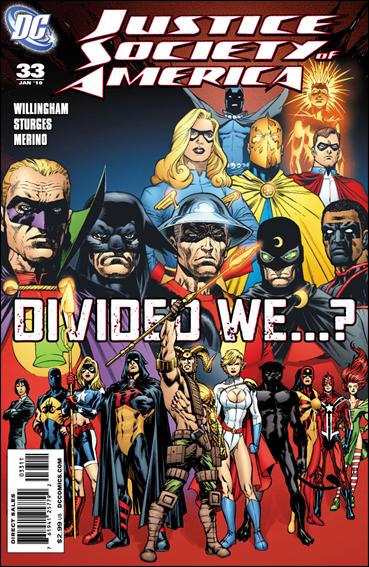 Justice Society of America (2007) 33-A by DC