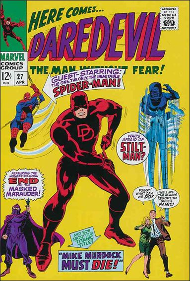 Daredevil (1964) 27-A by Marvel