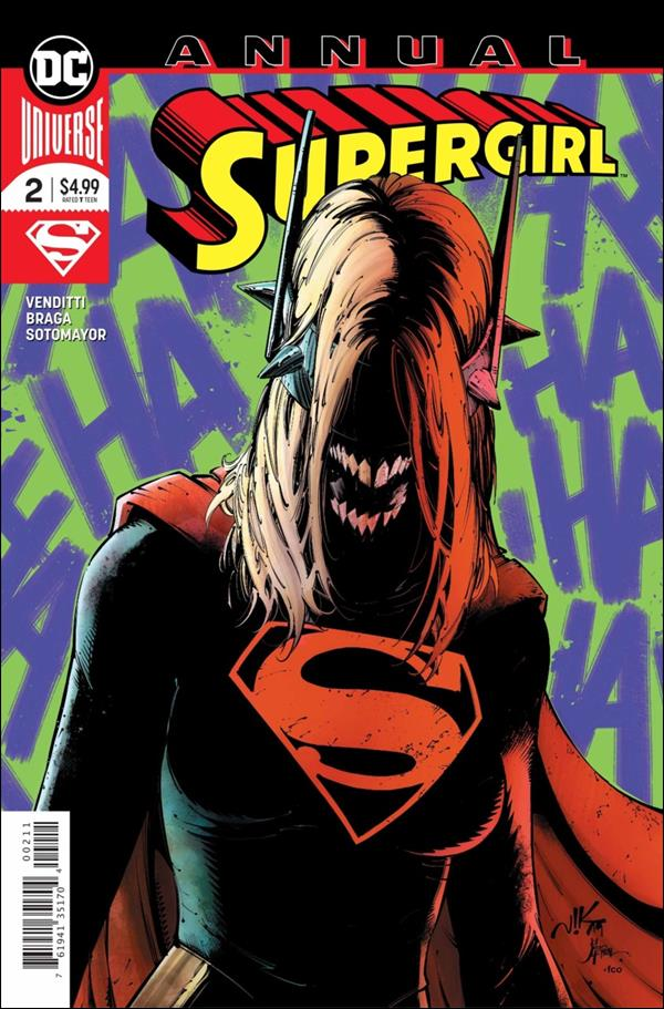 Supergirl Annual (2017) 2-A by DC