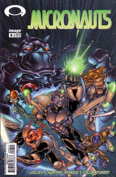 Micronauts (2002) 8-A by Image