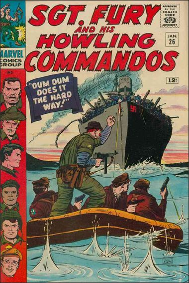 Sgt. Fury and His Howling Commandos 26-A by Marvel