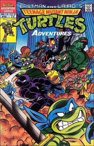 Teenage Mutant Ninja Turtles Adventures (1989) 13-A by Archie