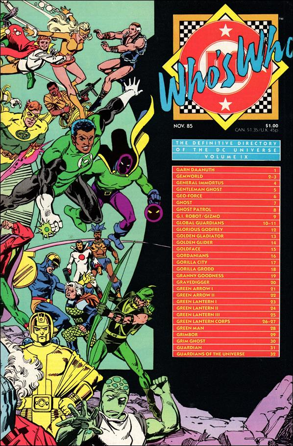 Who's Who: The Definitive Directory of the DC Universe 9-A by DC