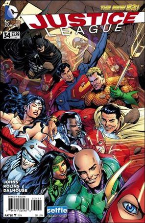 Justice League (2011) 34-E