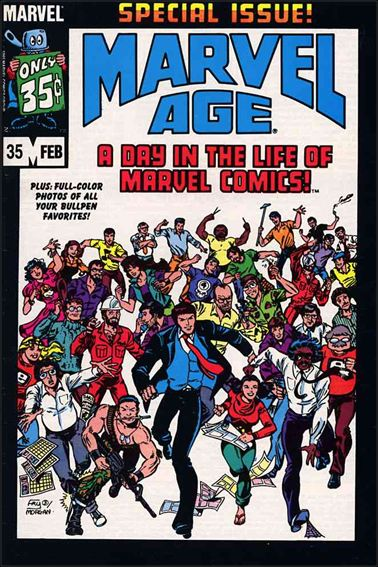 Marvel Age 35-A by Marvel
