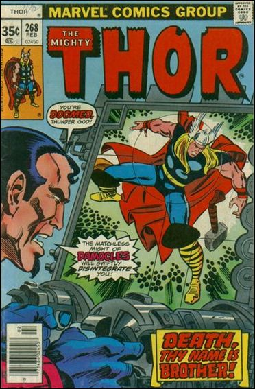 Thor (1966) 268-A by Marvel