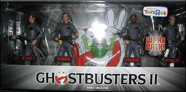 Ghostbusters: Movie Masters (4-Packs) Ghostbusters II 4-Pack by Mattel
