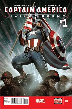 Captain America: Living Legend 1-A